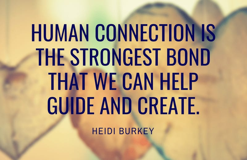 Human connection quote